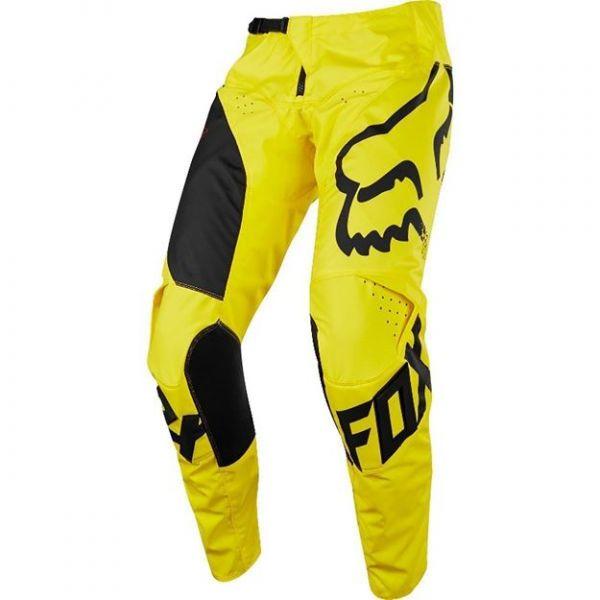 Pantaloni MX-Enduro Copii Fox Pantaloni MX Copii 180 Mastar Galben/Negru 2020