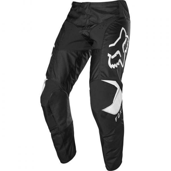 Pantaloni MX-Enduro Copii Fox Pantaloni MX Copii 180 Prix Negru/Alb 2020
