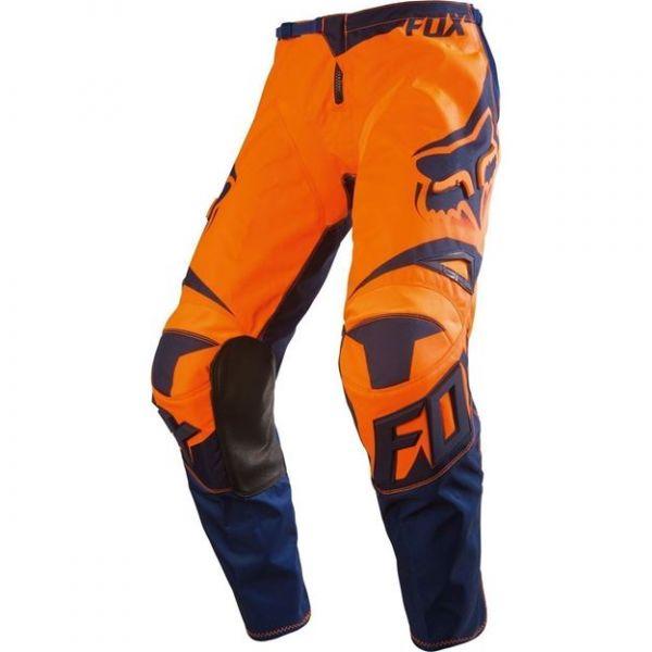 Pantaloni MX-Enduro Copii Fox Pantaloni MX Copii 180 Race MX16 Portocaliu/Albastru 2020