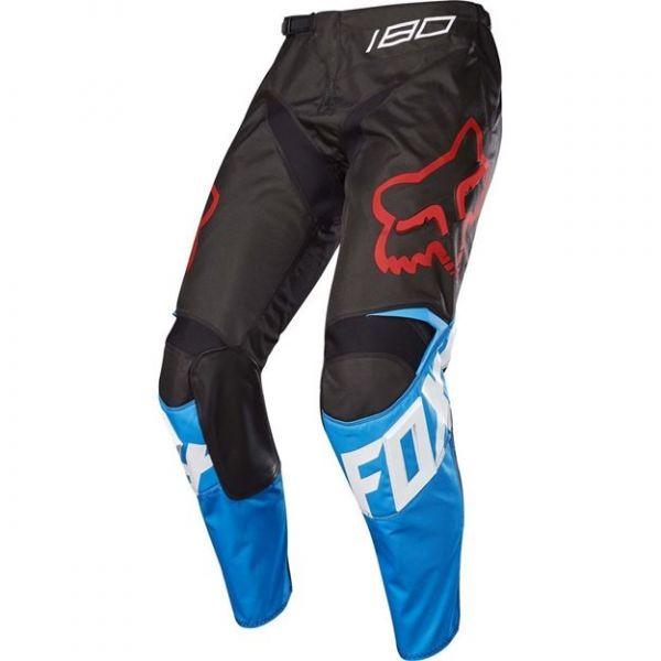 Pantaloni MX-Enduro Copii Fox Pantaloni MX Copii 180 Sabbath SE Albastru/Negru 2020