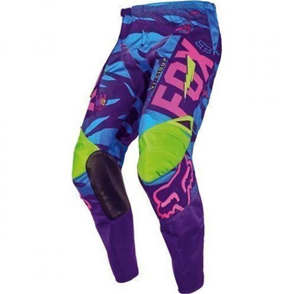 Pantaloni MX-Enduro Copii Fox Pantaloni MX Copii 180 Vicious LE Multicolor/Albastru 2020