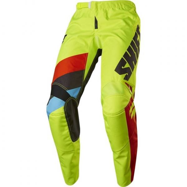 Pantaloni MX-Enduro Copii Shift Pantaloni MX Copii Whit3 Tarmac Galben 2020
