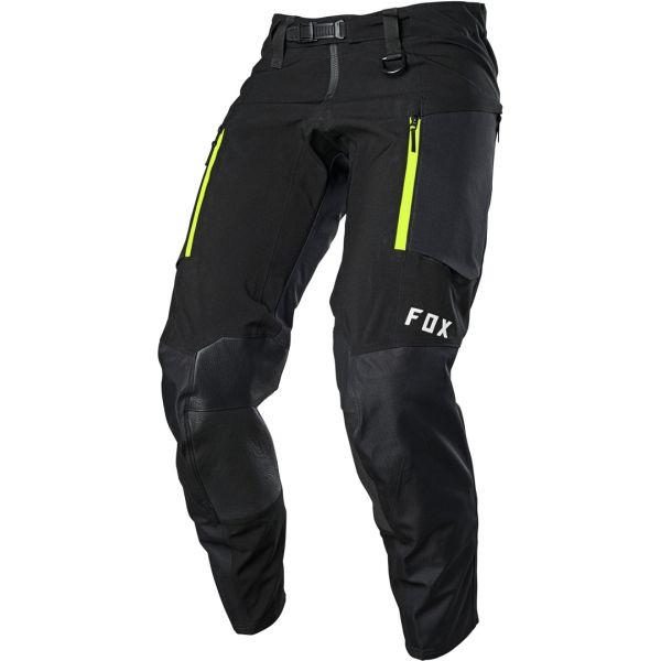 Pantaloni MX-Enduro Fox Pantaloni MX Legion Downpour Negru 2020