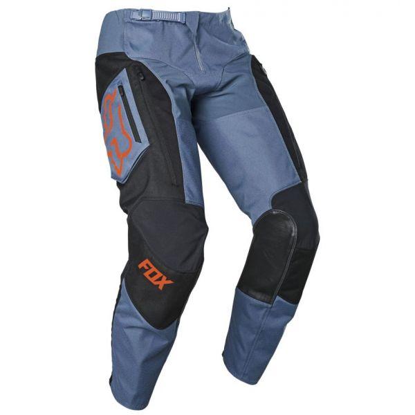 Pantaloni MX-Enduro Fox Pantaloni MX Legion LT Negru/Albastru 2020
