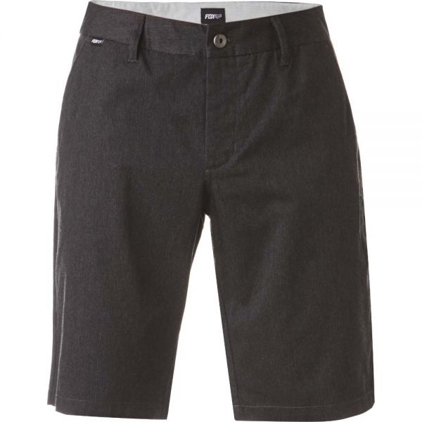 Pantaloni Casual Fox Pantaloni Scurti Essex Pinstripe Charcoal