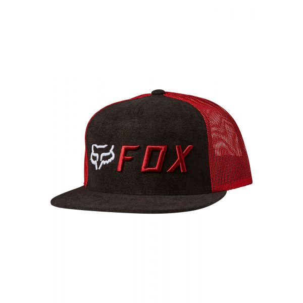 Sepci Fox Sapca Apex Snapback Negru/Rosu 2020