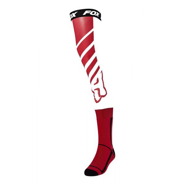 Sosete MX-Enduro Fox Sosete MX Knee Brace Mach One Multicolor/Rosu 2020