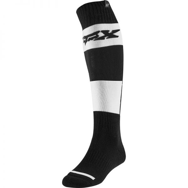 Sosete MX-Enduro Fox Sosete Subtiri Fri Linc Black/White 2020