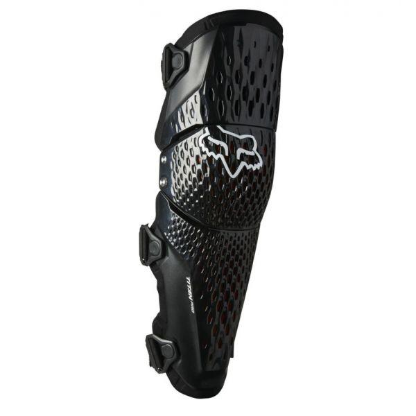 Genunchiere si Orteze Fox Genunchiere Moto MX Titan Pro D3O Black 2021