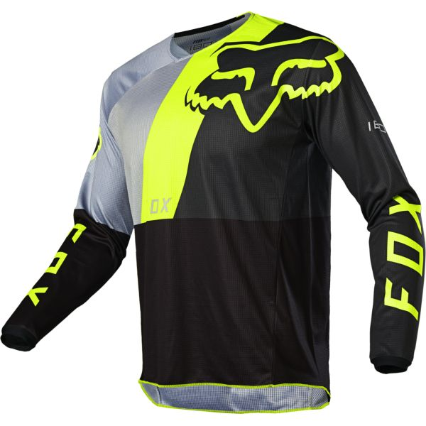 Tricouri MX-Enduro Fox Tricou 180 LOVL Black/Yellow 2020