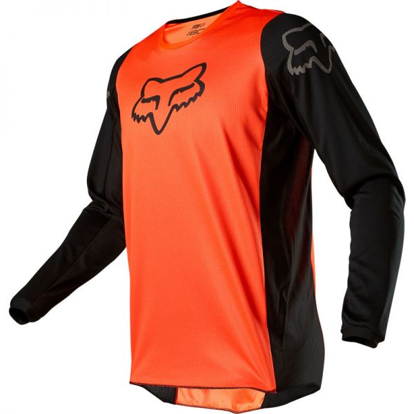 Tricouri MX-Enduro Fox Tricou 180 Prix Orange/Black 2020
