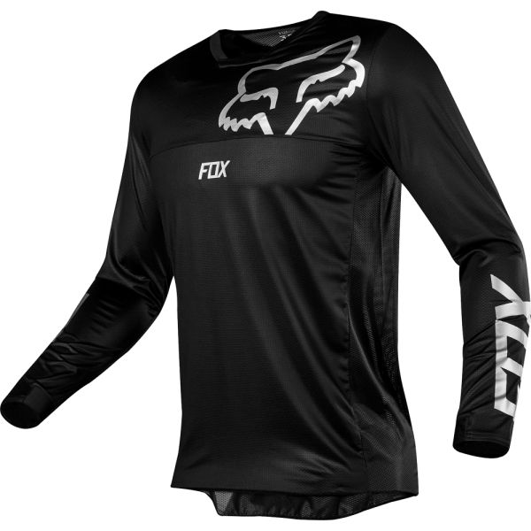 Tricouri MX-Enduro Fox Tricou Airline Black/White 2019