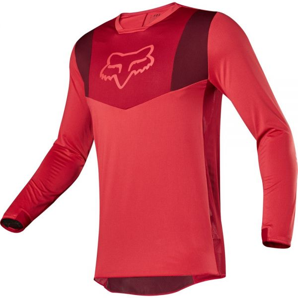 Tricouri MX-Enduro Fox Tricou Airline Red