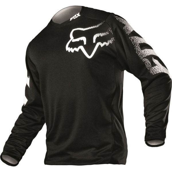 Tricouri MX-Enduro Fox Tricou Blackout