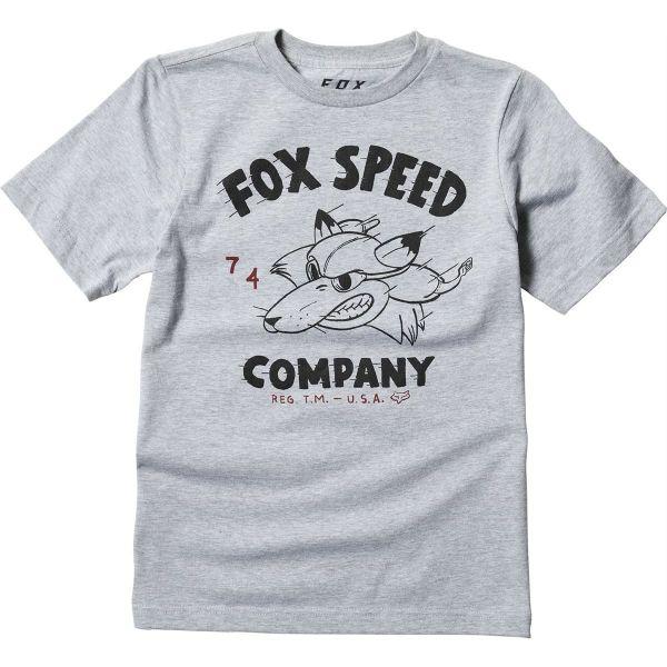 Fox Tricou Copii Bomber Gray