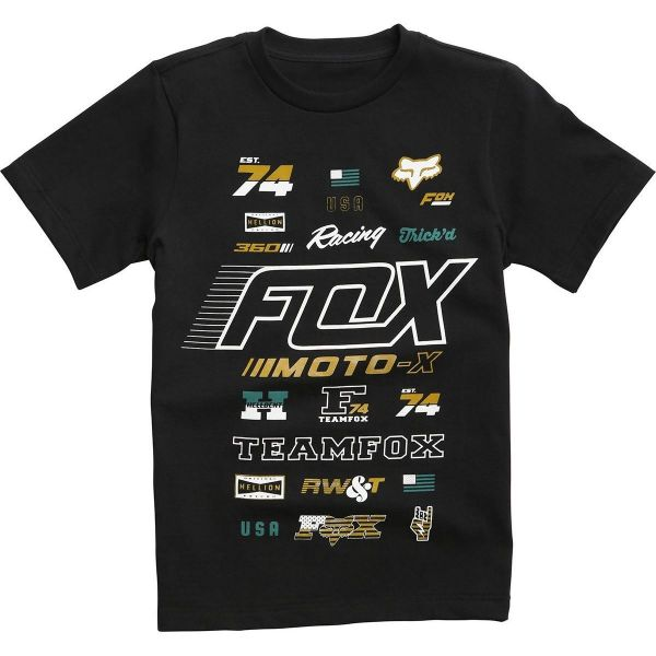 Fox Tricou Copii Edify Nlb Aktion19 Black