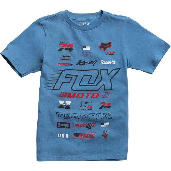 Fox Tricou Copii Edify Nlb Aktion19 Dusty Blue