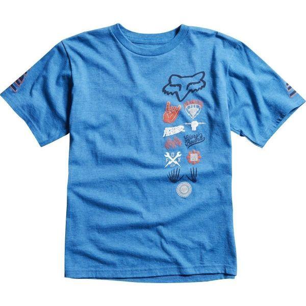 Fox Tricou Copii Juker Aktion19 Blue