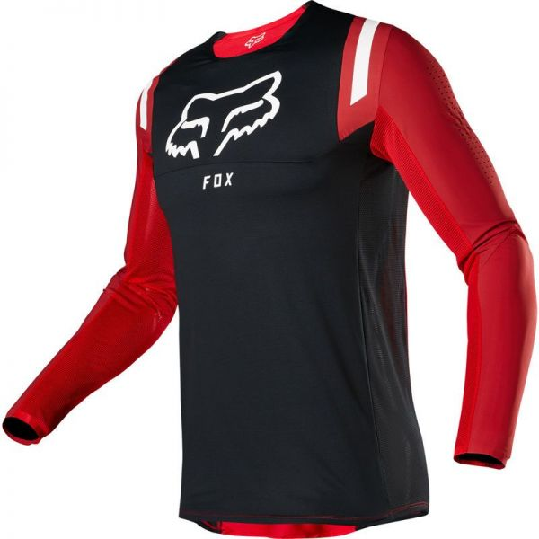 Tricouri MX-Enduro Fox Tricou Flexair REDR FLM Red 2020