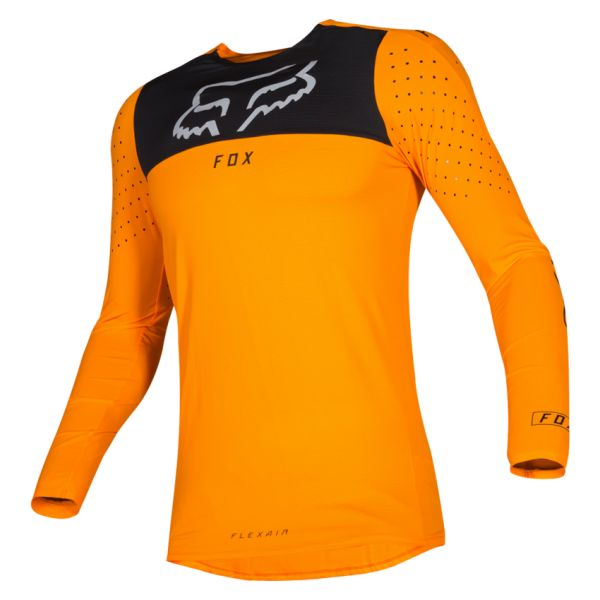 Tricouri MX-Enduro Fox Tricou Flexair Royl FLM Orange 2019