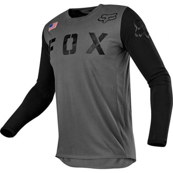 Tricouri MX-Enduro Copii Fox Tricou MX Copii 180 SD SE Negru/Gri 2020