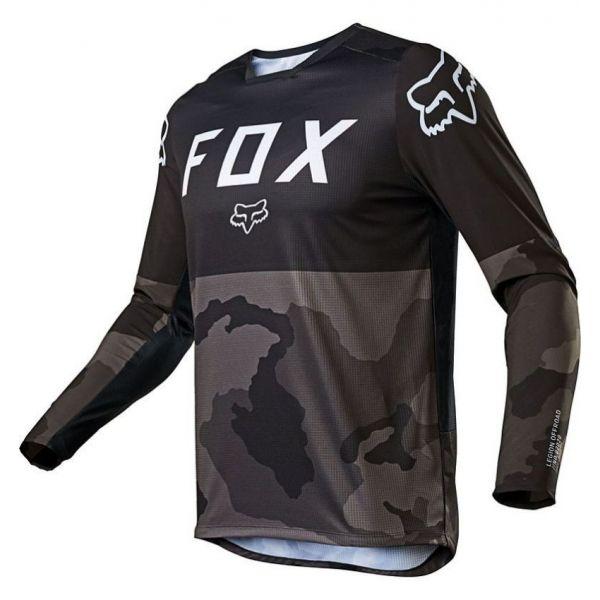 Tricouri MX-Enduro Fox Tricou MX Legion LT Negru Camo 2020