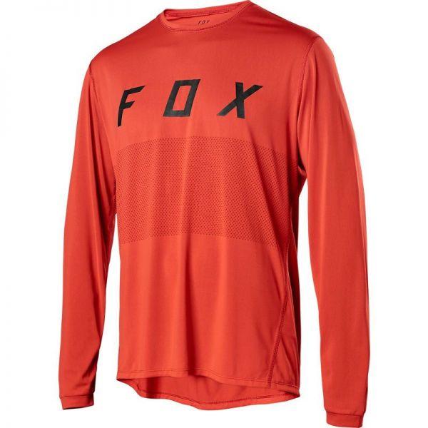 Fox Tricou Ranger LS Orange Crush 2020