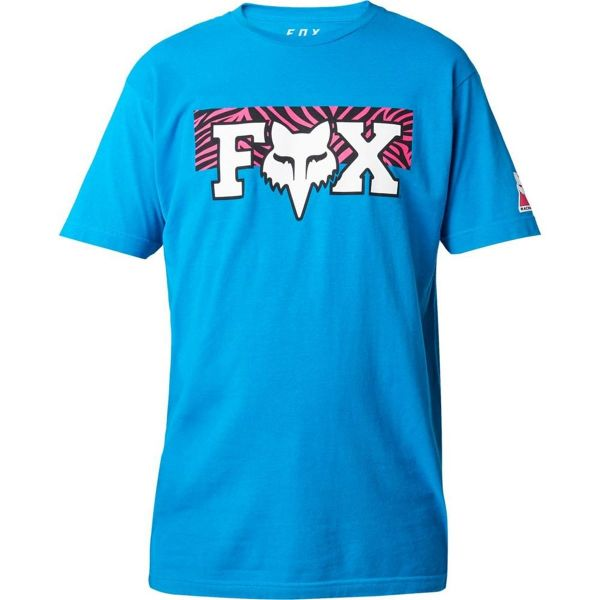 Fox Tricou Vegas Fheadx Premium Cyan