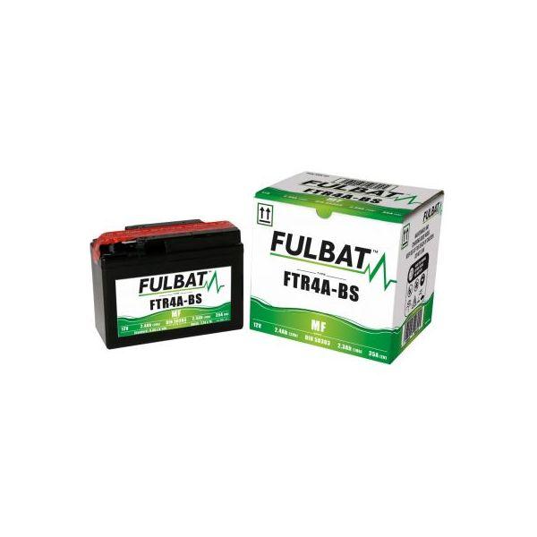 Acumulatori Fara Intretinere Fulbat Baterie Fara Intretinere FTR4A-BS (YTR4A-BS)