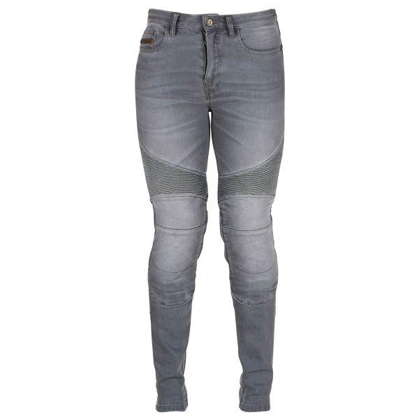 Jeans Moto - Dama Furygan Blugi Dama Jean Purdey Grey 2020
