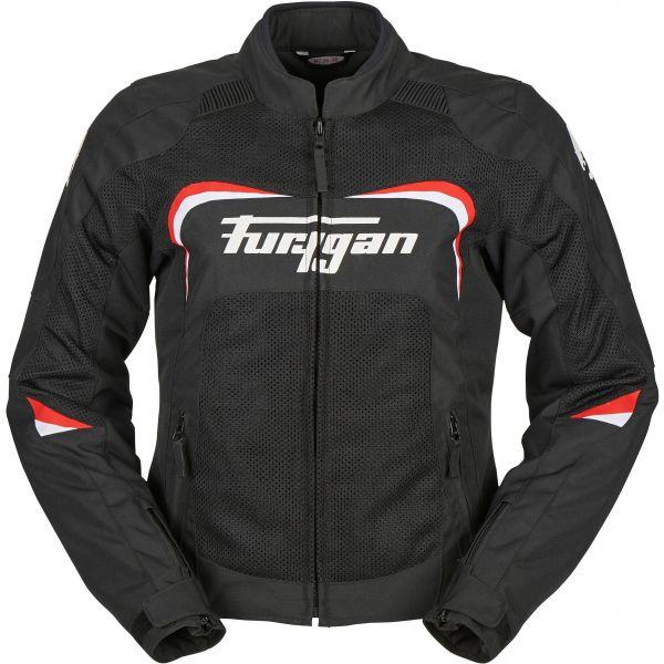Geci Moto Textil - Dama Furygan Geaca Moto Textila Dama Cyane Vented Multicolor Negru 2020