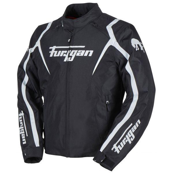 Geci Moto Textil Furygan Geaca Moto Textila Irus Black/White 2020