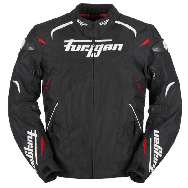 Geci Textil Furygan Geaca Textila Narval Black/White/Red 2020