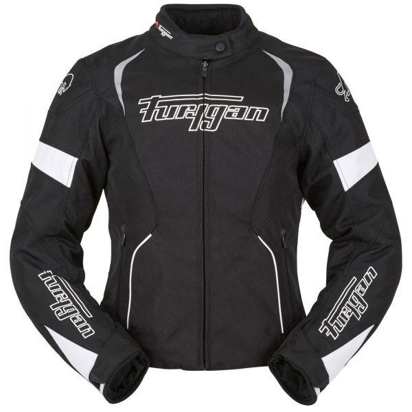 Geci Moto Textil Furygan LICHIDARE STOC Geaca Moto Xenia Dama Black/White