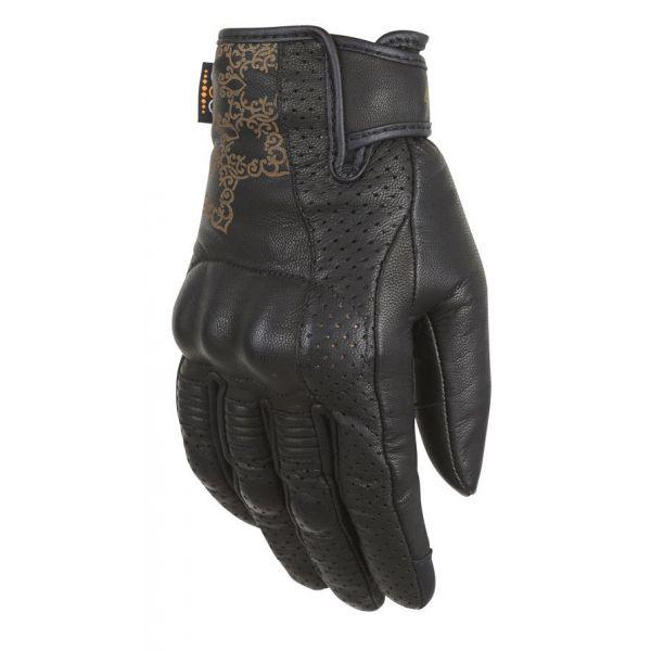 Manusi Moto Dama Furygan Manusi Moto Dama Piele 4417-1 Astral Glove D3O Black 2021
