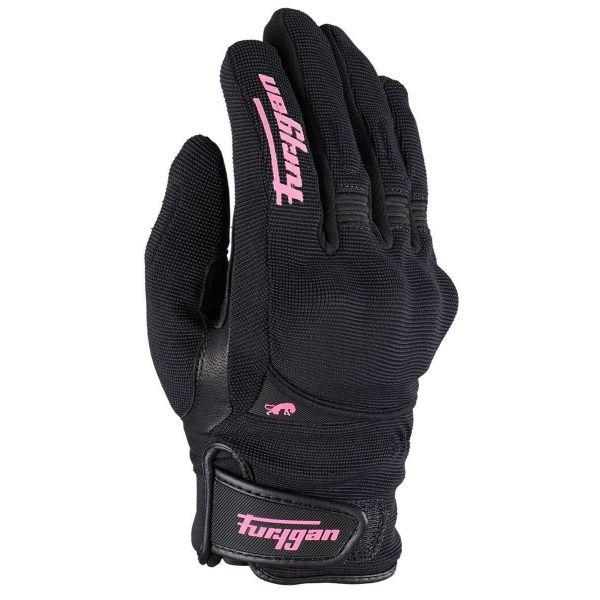 Manusi Moto Dama Furygan Manusi Moto Dama Piele 4532-150 Jet All Season D3O Black/Pink 2021
