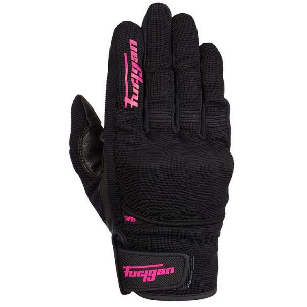 Manusi Moto Dama Furygan Manusi Moto Dama Textile/Piele 4486-150 Jet D3O Black-Pink 2021