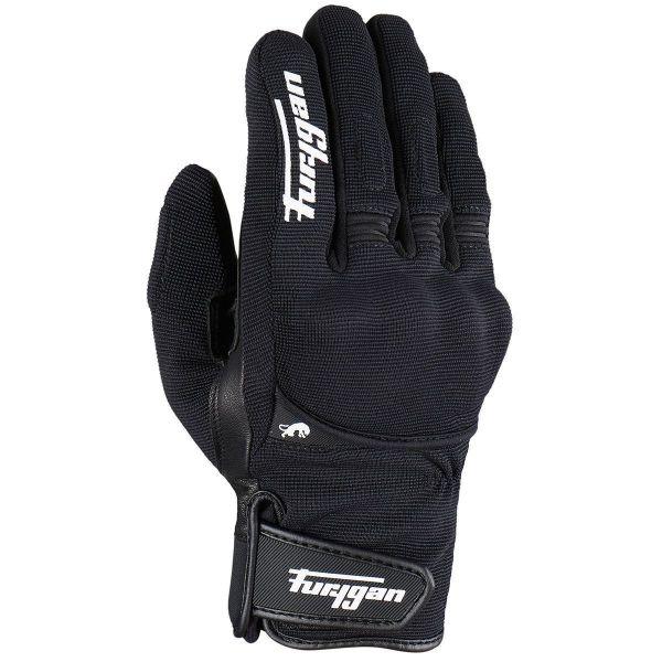 Manusi Moto Sport si Piele Furygan Manusi Moto Textile 4531-143 Jet All Season D3O Black/White 2021