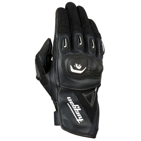 Manusi Moto Sport si Piele Furygan Manusi Moto Textile/Piele 4494-143 Volt Black-White 2021