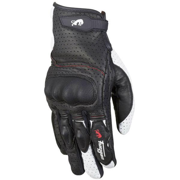 Manusi Sport si Piele Furygan Manusi Piele/Textile TD21 Black/White 2020