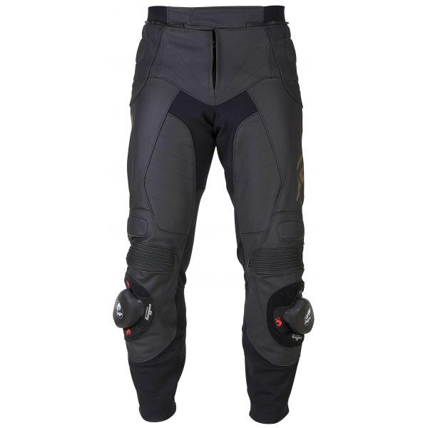 Pantaloni Moto Piele Furygan Pantaloni Piele Sherman Black 2020