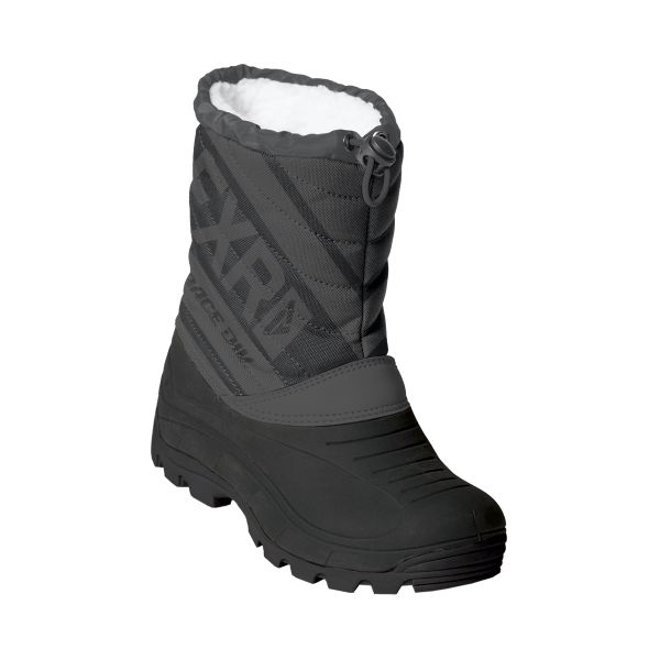 Bocanci Snowmobil - Copii FXR Bocanci Snow Copii Octane Black/Charcoal 2020