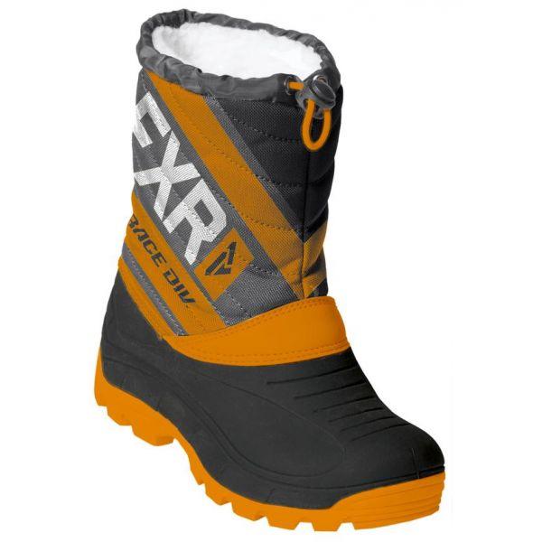 Bocanci Snowmobil - Copii FXR Bocanci Snow Copii Octane Black/Orange/Char 2020
