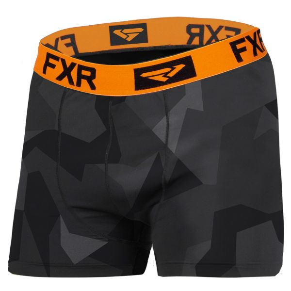 Underlayer Snow FXR Boxeri Helium X Tech Charcoal Camo/Orange