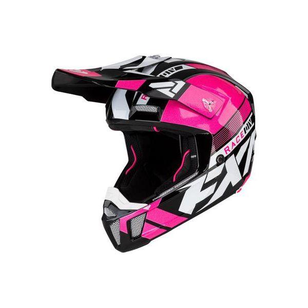 Casti Snowmobil FXR Casca Snow Clutch Boost Elec Pink 2021