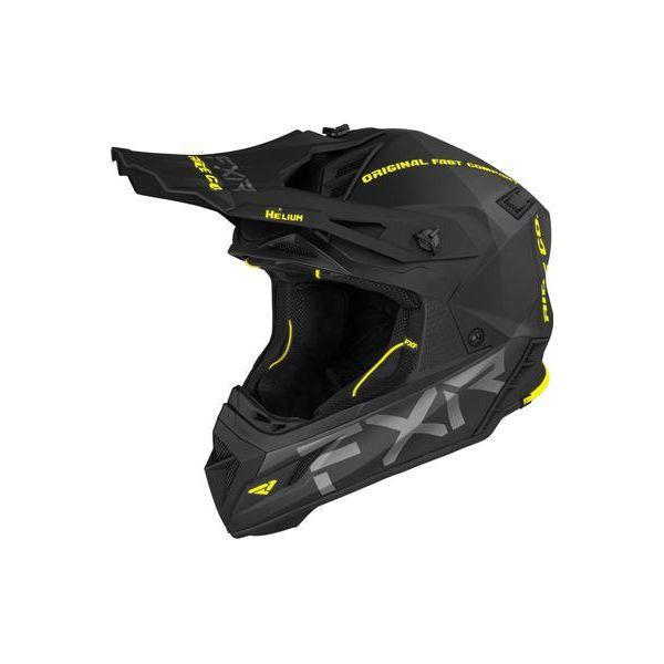 Casti Snowmobil FXR Casca Snow Helium Ride Co Hi Vis 2021