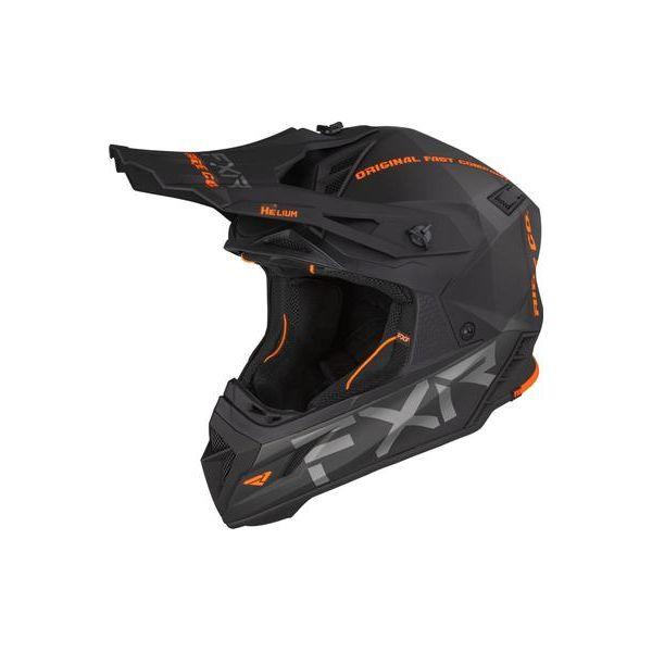 Casti Snowmobil FXR Casca Snow Helium Ride Co Orange 2021