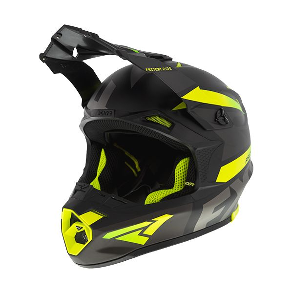 FXR Casca Snow Blade Force Black/Char/Hi Vis 2020