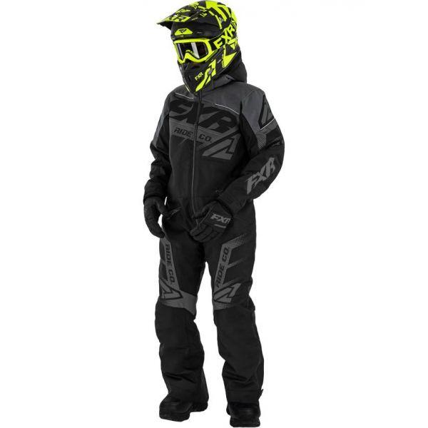 Combinezon Monosuit SNOW Copii FXR Combinezon Copii Insulated Boost Black Ops 2021