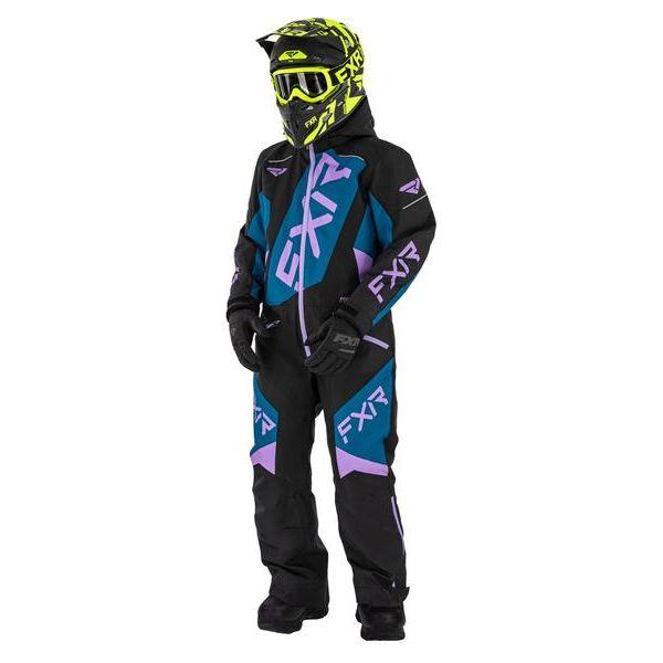 Combinezon Monosuit SNOW Copii FXR Combinezon Copii Insulated CX multicolor-mov 2021